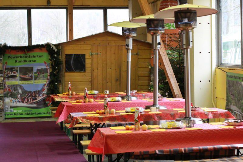 Weihnachten Kletterhalle