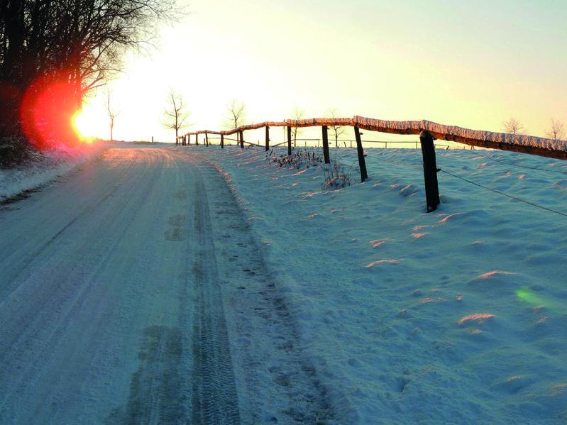 Winterwanderung Saechsische Schweiz