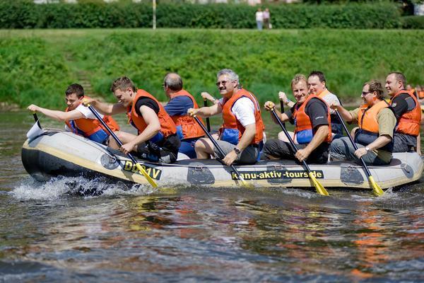 Firmen-Events - Abenteuertag Elbe2