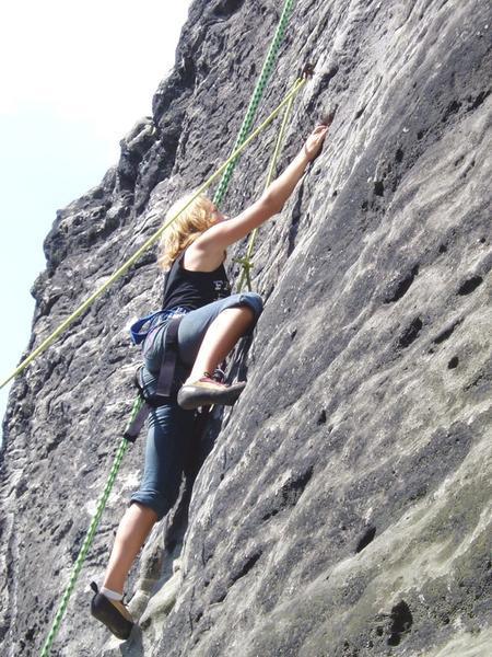 Klettern am Naturfels1