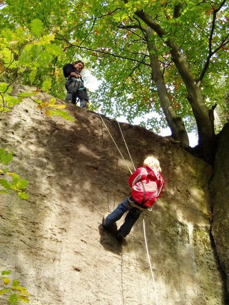 Klettern am Naturfels2