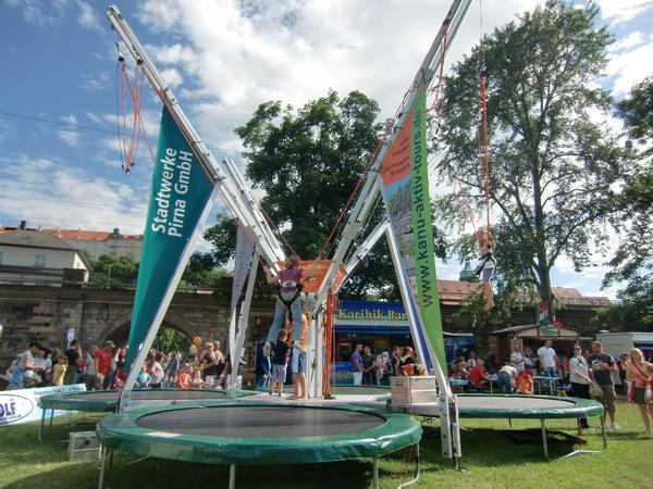 Mobile Event Module - Bungee-Trampolin6