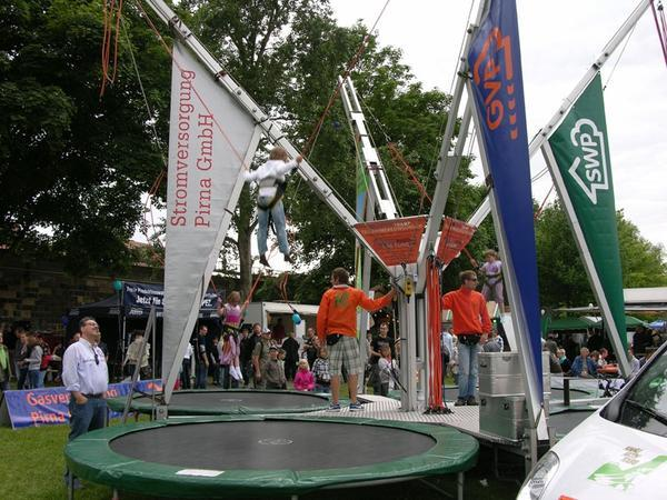 Mobile Event Module - Bungee-Trampolin7