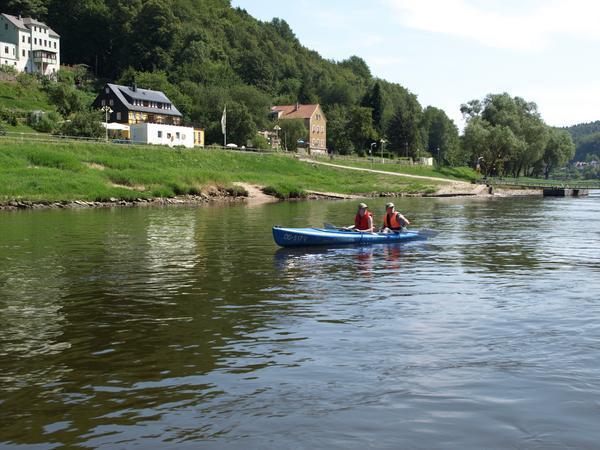 Paddel ins Elbe-Freizeitland