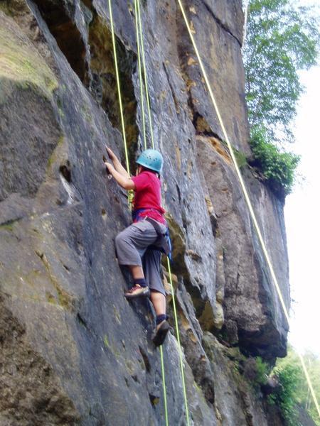 Projekt Kletter - Grund - ABC - Naturfels