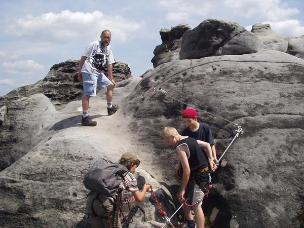 Projekt Klettersteig