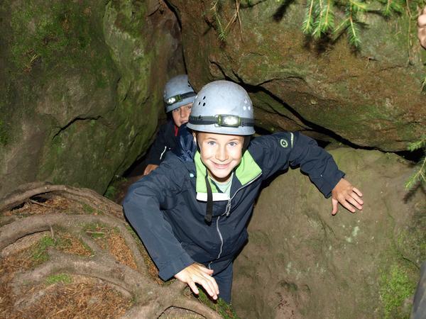 Projekt höhlenerkundliche Wanderung