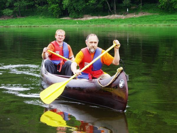 Rundkurse - Powerboot & Paddeln oder Kanu & Rad2
