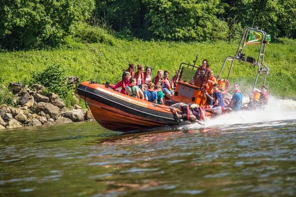 Rundkurse - Powerboot & Paddeln oder Kanu & Rad4